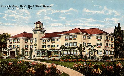 Benson Also Built The Columbia Gorge Hotel In Hood River